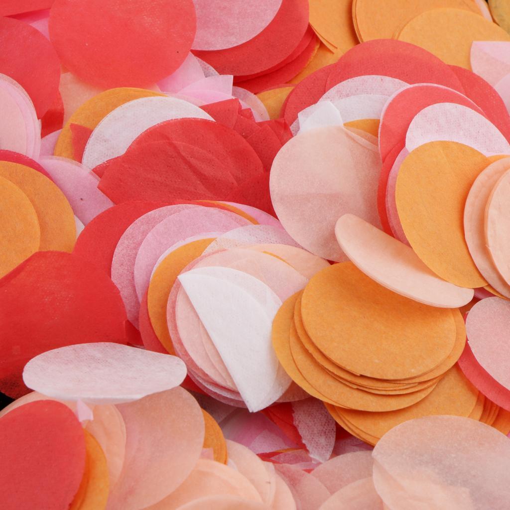 30g-Round-Tissue-Paper-Throwing-Confetti-Party-Balloon-Confetti-Wedding-Decor miniature 26