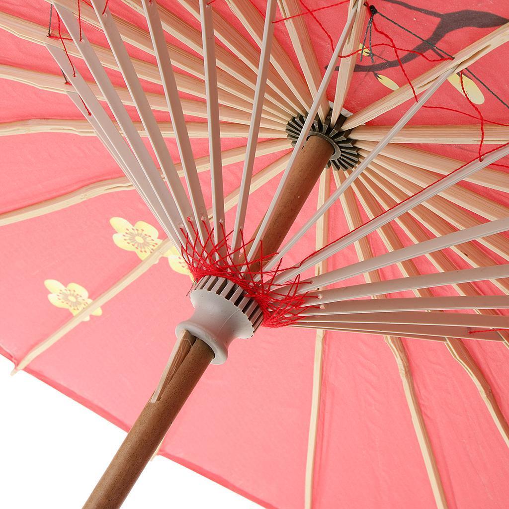 Parapluie-Chinois-Parasol-De-Mariage-Maison miniature 7