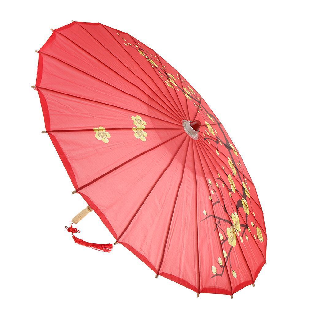 Parapluie-Chinois-Parasol-De-Mariage-Maison miniature 8