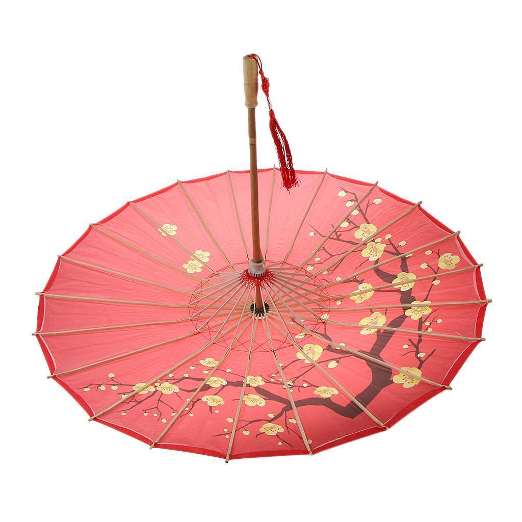 Parapluie-Chinois-Parasol-De-Mariage-Maison miniature 9