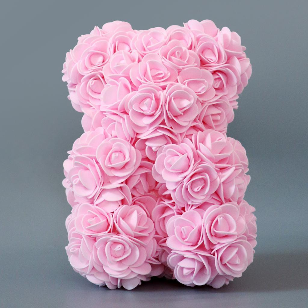 Rose-Bear-Teddy-Bear-Forever-Artificial-Flowers-Anniversary-Valentines-Gifts thumbnail 24
