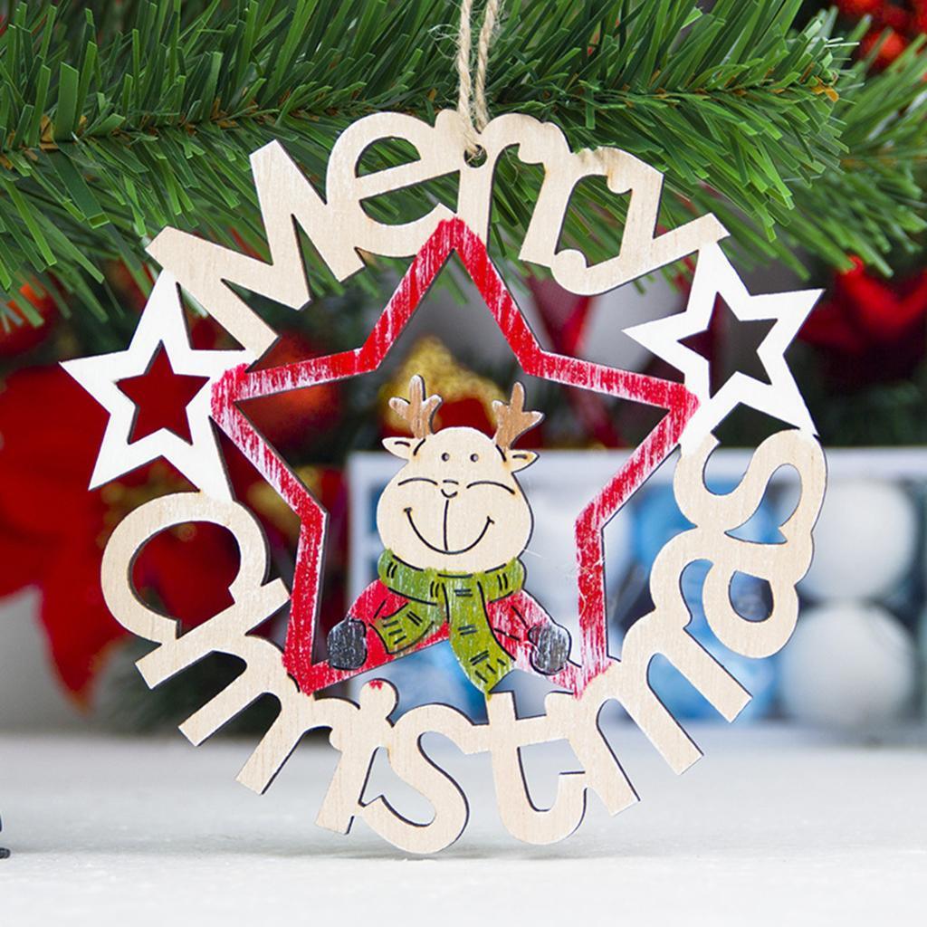 BUCHSTABEN-SET in verschiedenen Größen Frohe Weihnachten Frohes Fest Holz