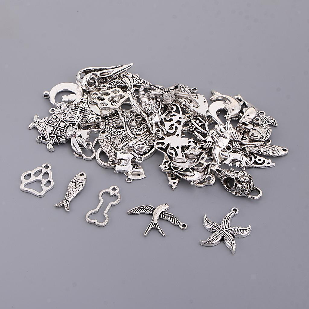 DIY-Jewelry-Making-Accessories-Animal-Pendant-Charms-for-Bracelet-Earring thumbnail 5