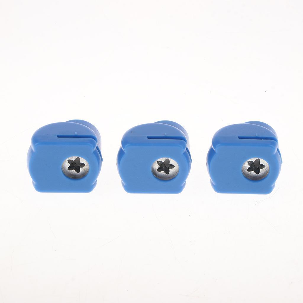 miniatura 4 - Perforatore di carta perforata mini 3pcs per la fabbricazione delle carte di