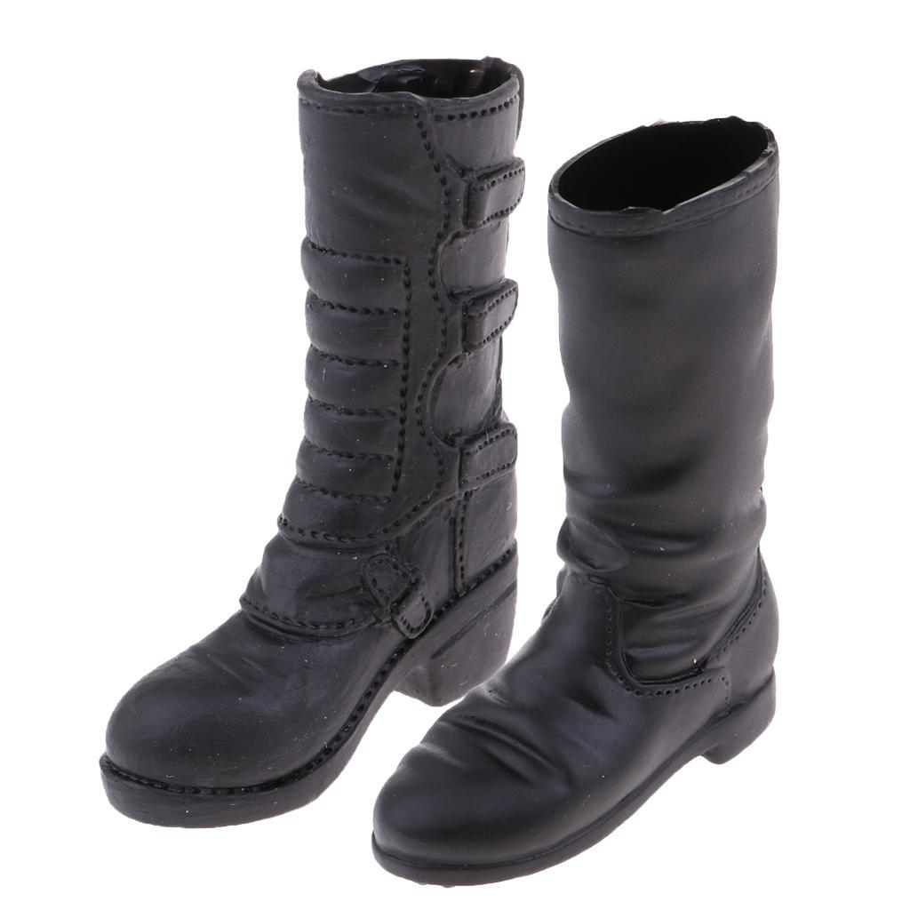 """MagiDeal 1//6 Women Military Shoes Combat Boots for 12/"""" Action Figure White"""