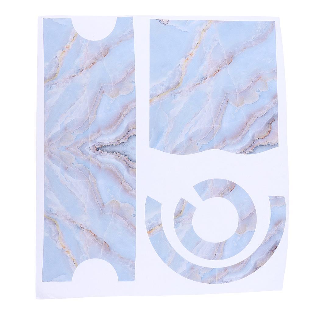 Asciugacapelli-Adesivi-in-PVC-Resistente-All-039-acqua-Materiale-in-Carta miniatura 12