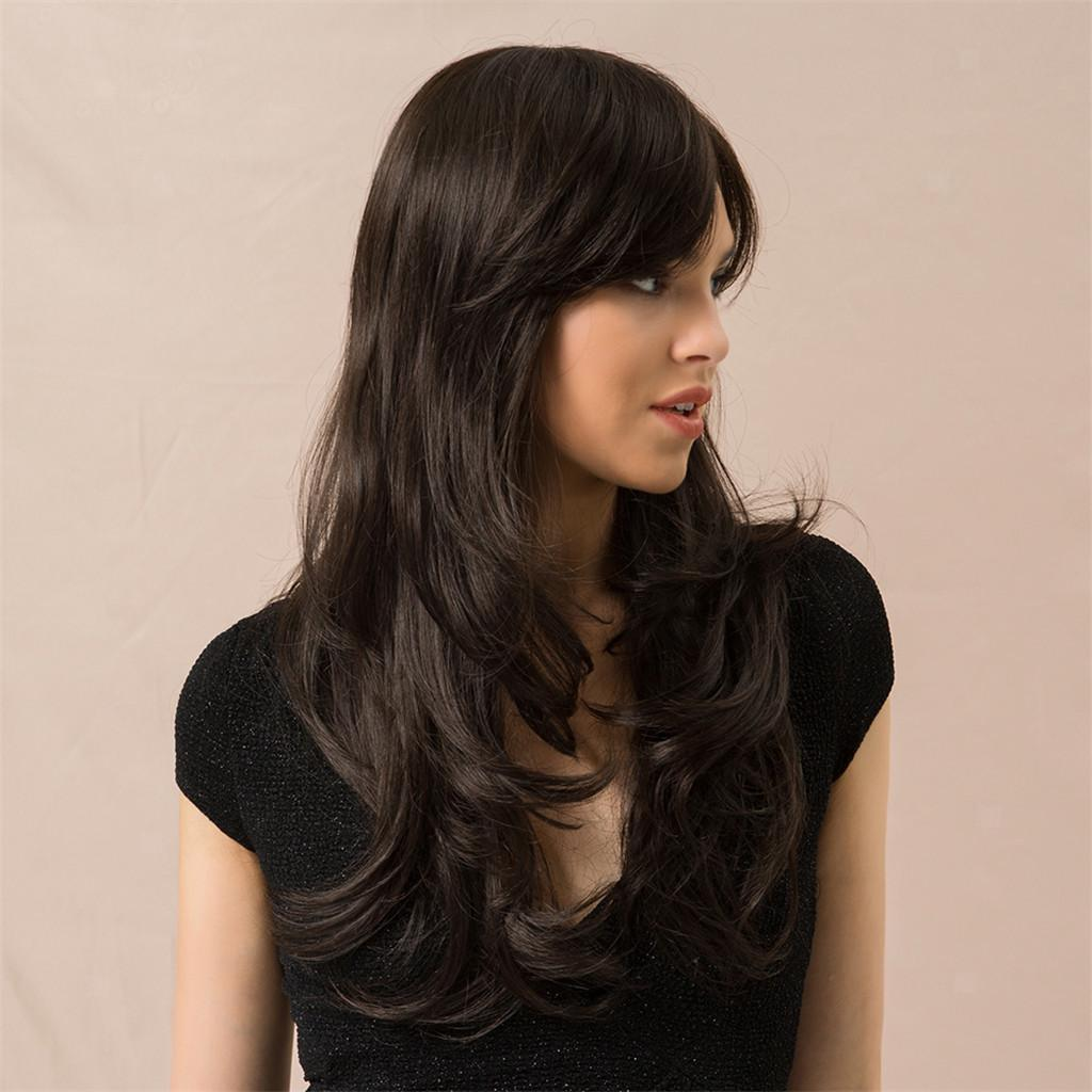 Women-Long-Curly-Full-Head-Wig-Natural-Looking-Party-Cosplay-Costume-Wigs thumbnail 3