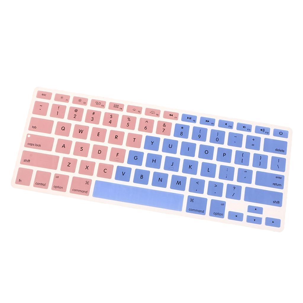 Silicone-Keyboard-Cover-Skin-Protector-for-Apple-Macbook-Pro-13-039-039-15-039-039-Retina thumbnail 6