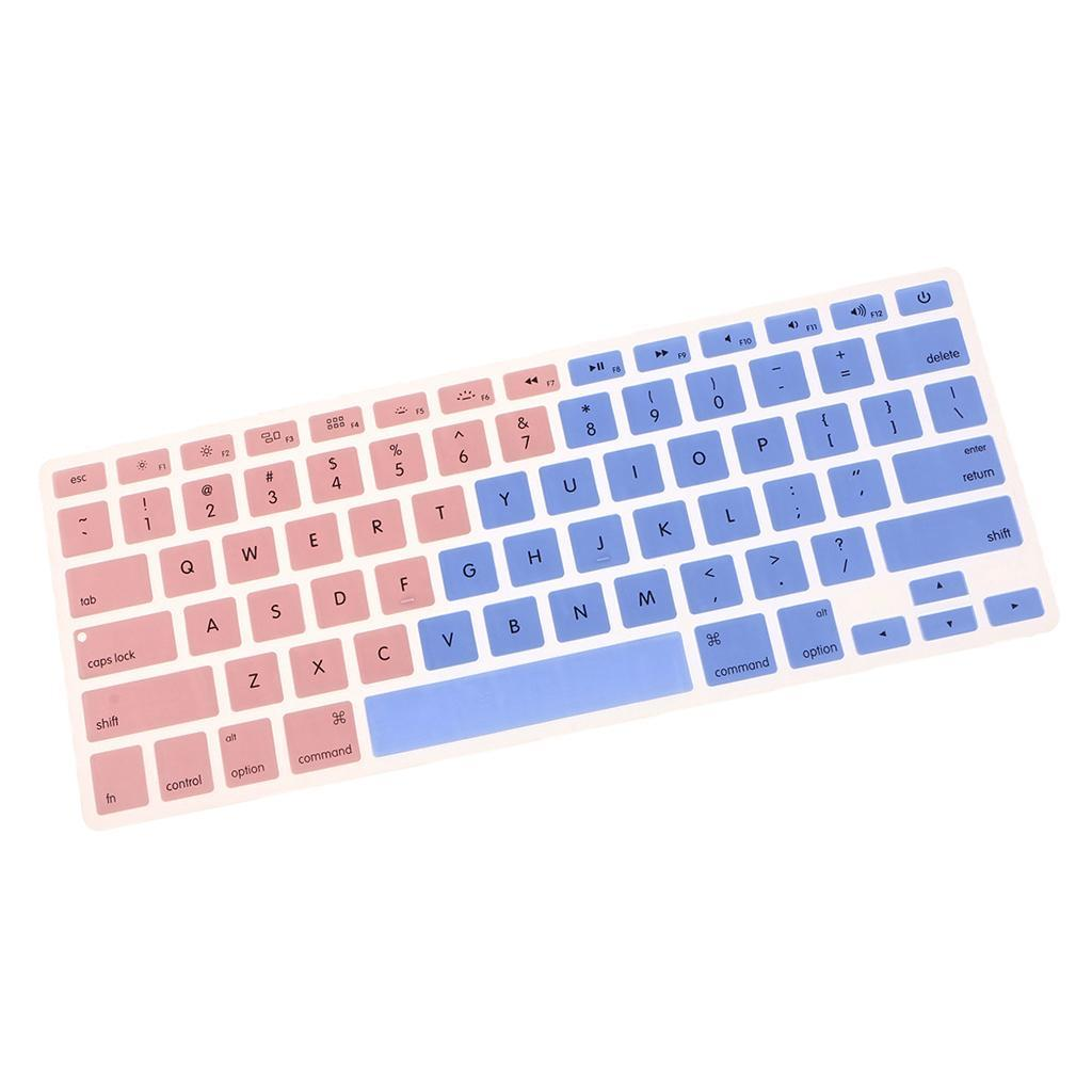 Silicone-Keyboard-Cover-Skin-Protector-for-Apple-Macbook-Pro-13-039-039-15-039-039-Retina thumbnail 7