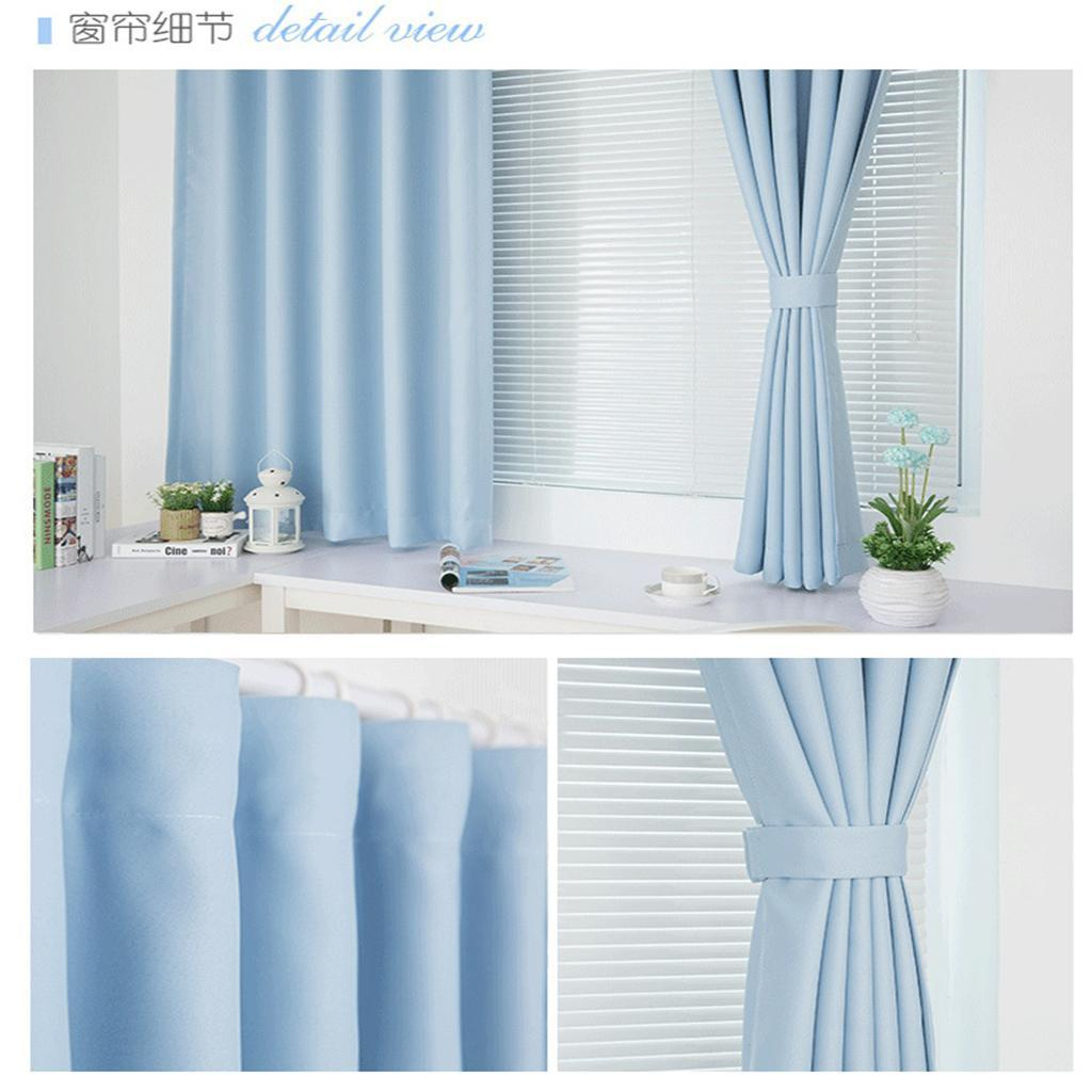 Pleated Curtains Blinds Shade Window Drape For Bedroom