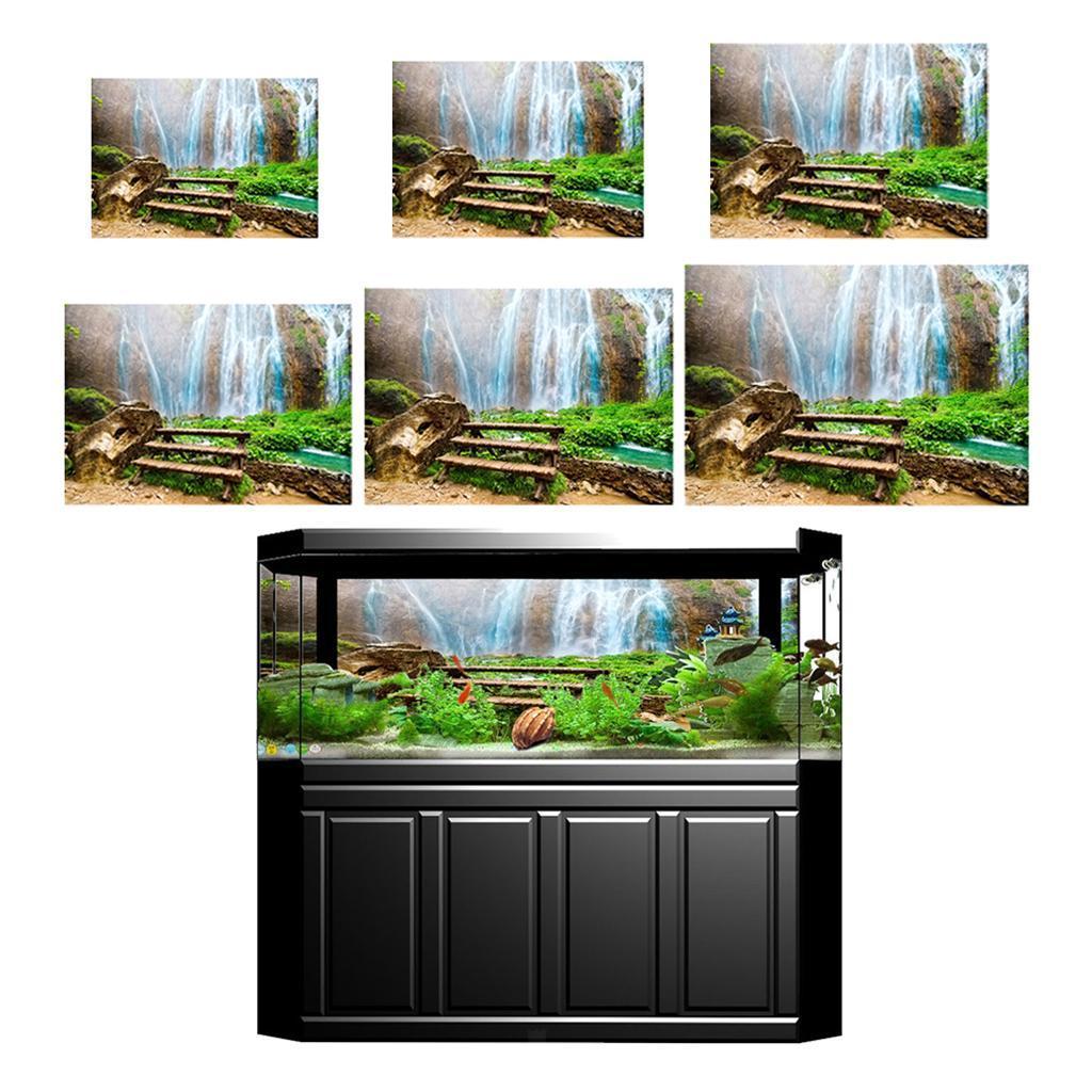 3D-High-Definition-Background-Paper-Wallpaper-Decor-for-Aquarium-Fish-Tank thumbnail 20