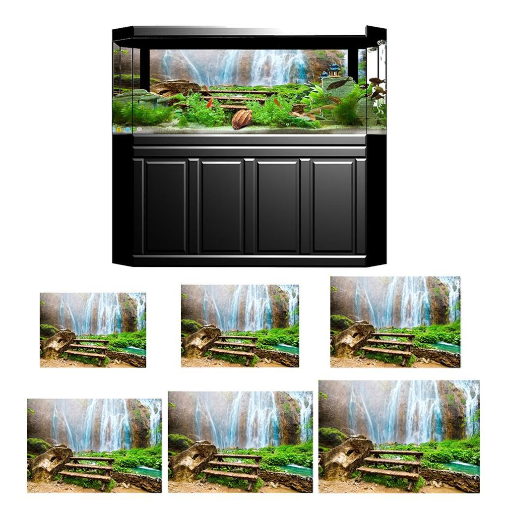 3D-High-Definition-Background-Paper-Wallpaper-Decor-for-Aquarium-Fish-Tank thumbnail 18