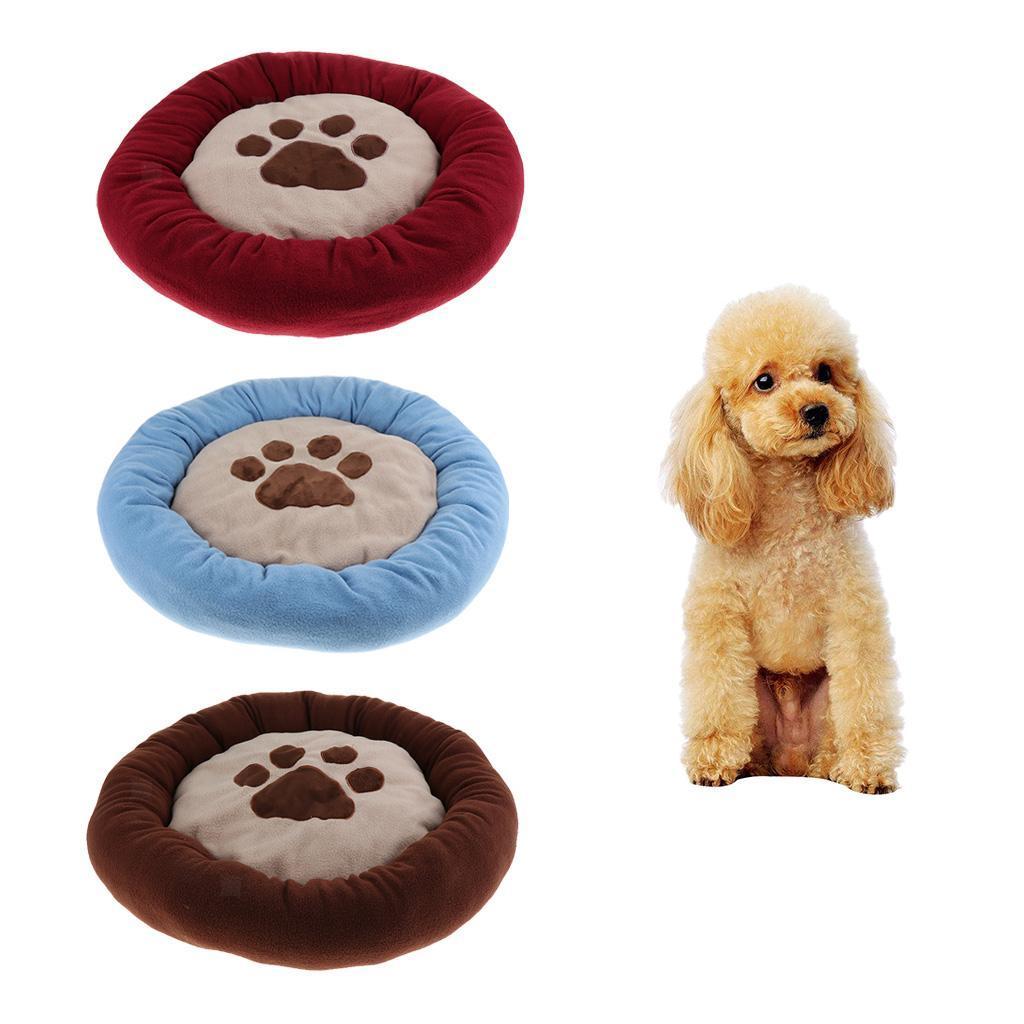 Indexbild 6 - Kleine Hundebett Runde Welpen Bett Weiche Niedliche Haustier Bett Kissen