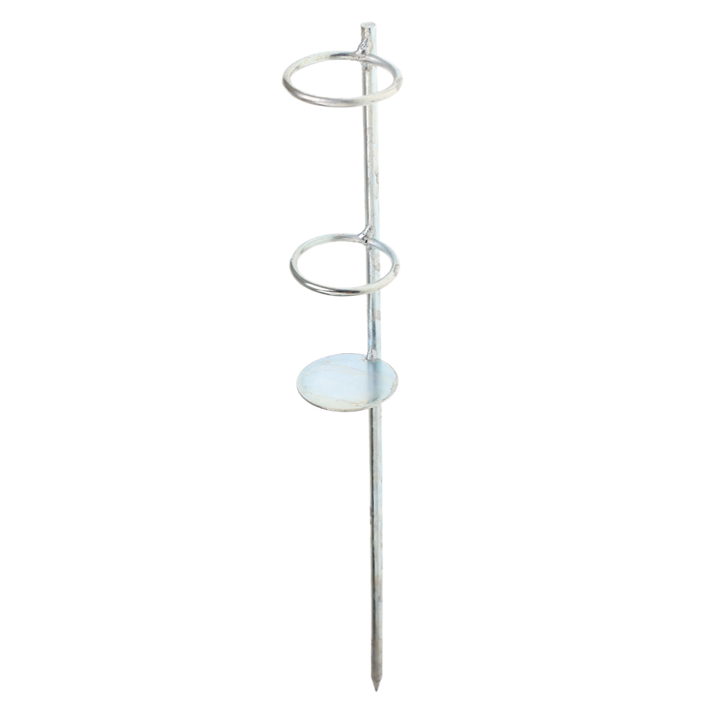 Fishing-Ground-Rod-Holder-Stainless-Steel-Beach-Bank-Rack-Pole-Ground-Stand thumbnail 3
