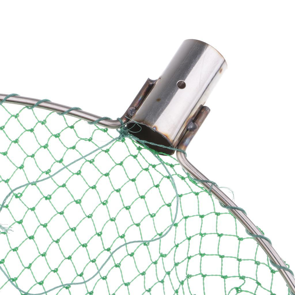 Nylon Angeln Kescher Kopf Große Mesh Forellen Fischernetz