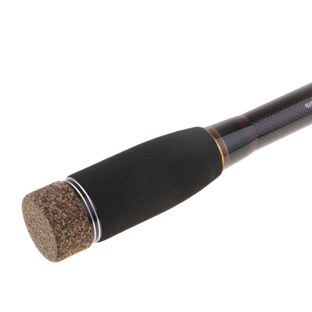 4-Pezzi-Canna-Da-Spinning-Canna-Da-Pesca-In-Fibra-Di-Carbonio-3-0m miniatura 13