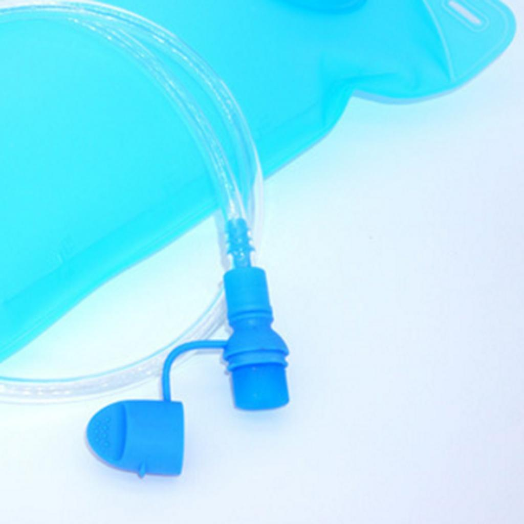 Water Bag Silicone curved Hydration Pack Suction Nozzle Bite Valve Bladder Pr