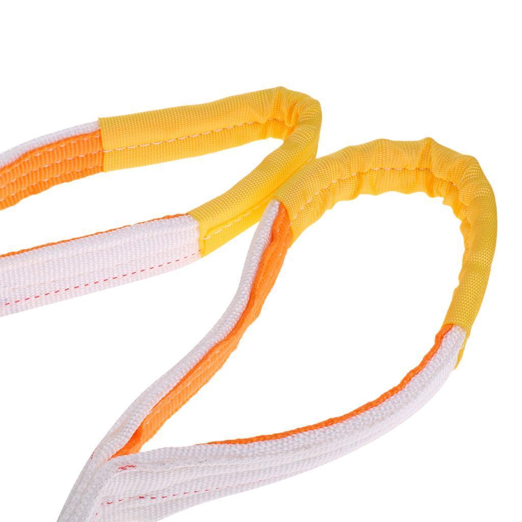 Lifting-Sling-Imbracatura-di-Sollevamento-Di-Doppio-Strato-Fibra-di miniatura 16