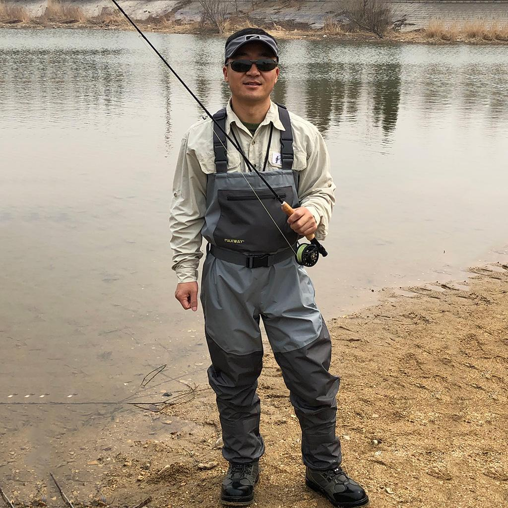 Light-Weight-Fishing-Waders-Waterproof-Chest-Wader-for-Fishing-Rafting-Farm thumbnail 9