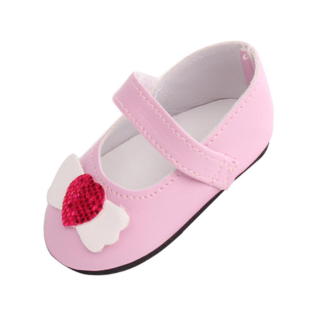 Poupee-Chaussure-Pour-18-Pouces-Fille-Americaine-Cadeaux-de-Noel miniature 9