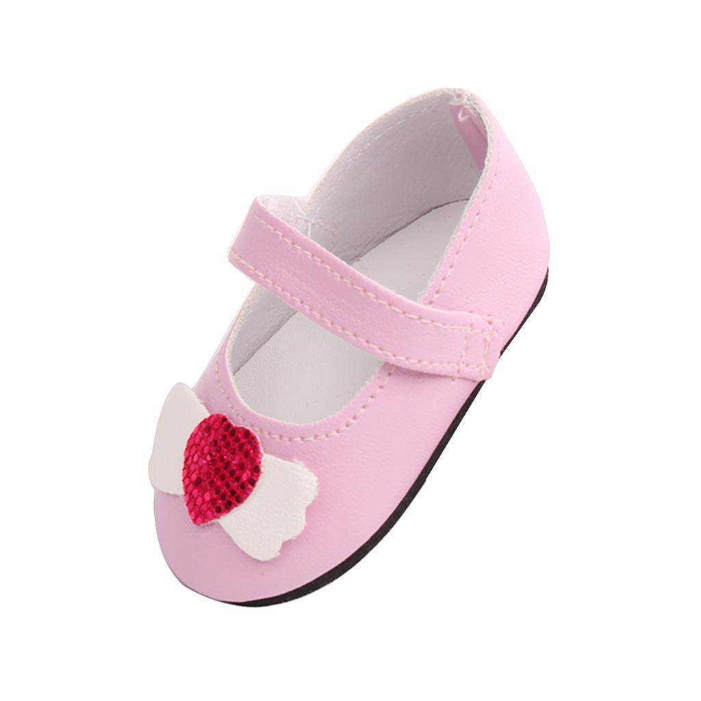 Poupee-Chaussure-Pour-18-Pouces-Fille-Americaine-Cadeaux-de-Noel miniature 10