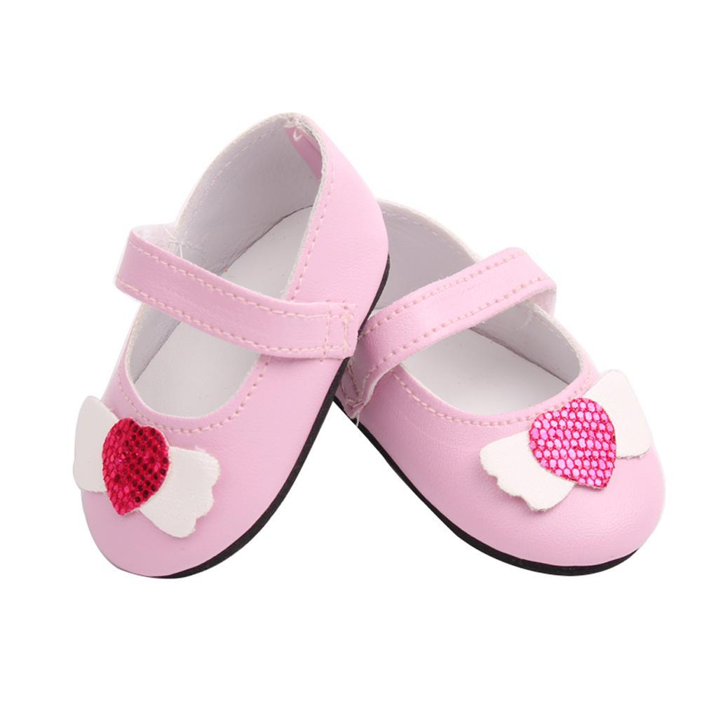 Poupee-Chaussure-Pour-18-Pouces-Fille-Americaine-Cadeaux-de-Noel miniature 8