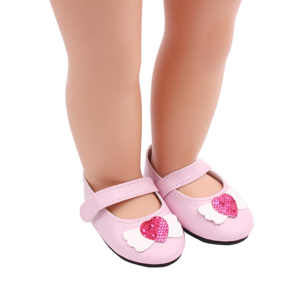 Poupee-Chaussure-Pour-18-Pouces-Fille-Americaine-Cadeaux-de-Noel miniature 7