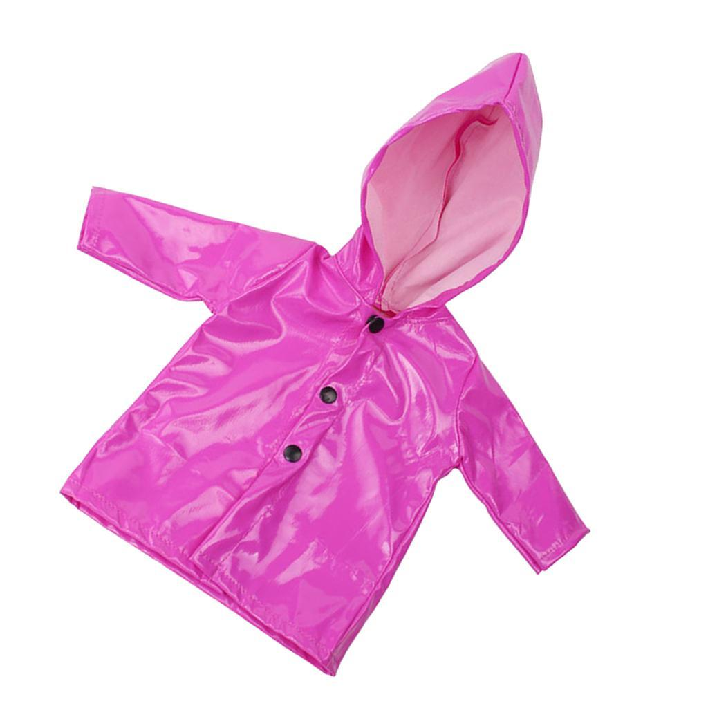 Candy-Color-Raincoat-Clothes-for-18-039-039-AG-American-Doll-Doll-Outfit-Accessory miniature 9
