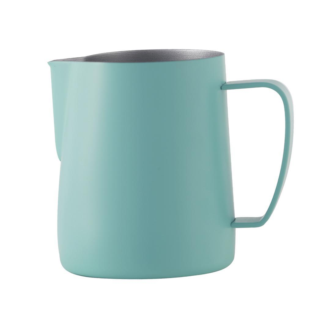 Milk-Pitcher-Stainless-Steel-Cup-Frothing-Pitcher-Jug-Coffee-Latte-600ml thumbnail 14