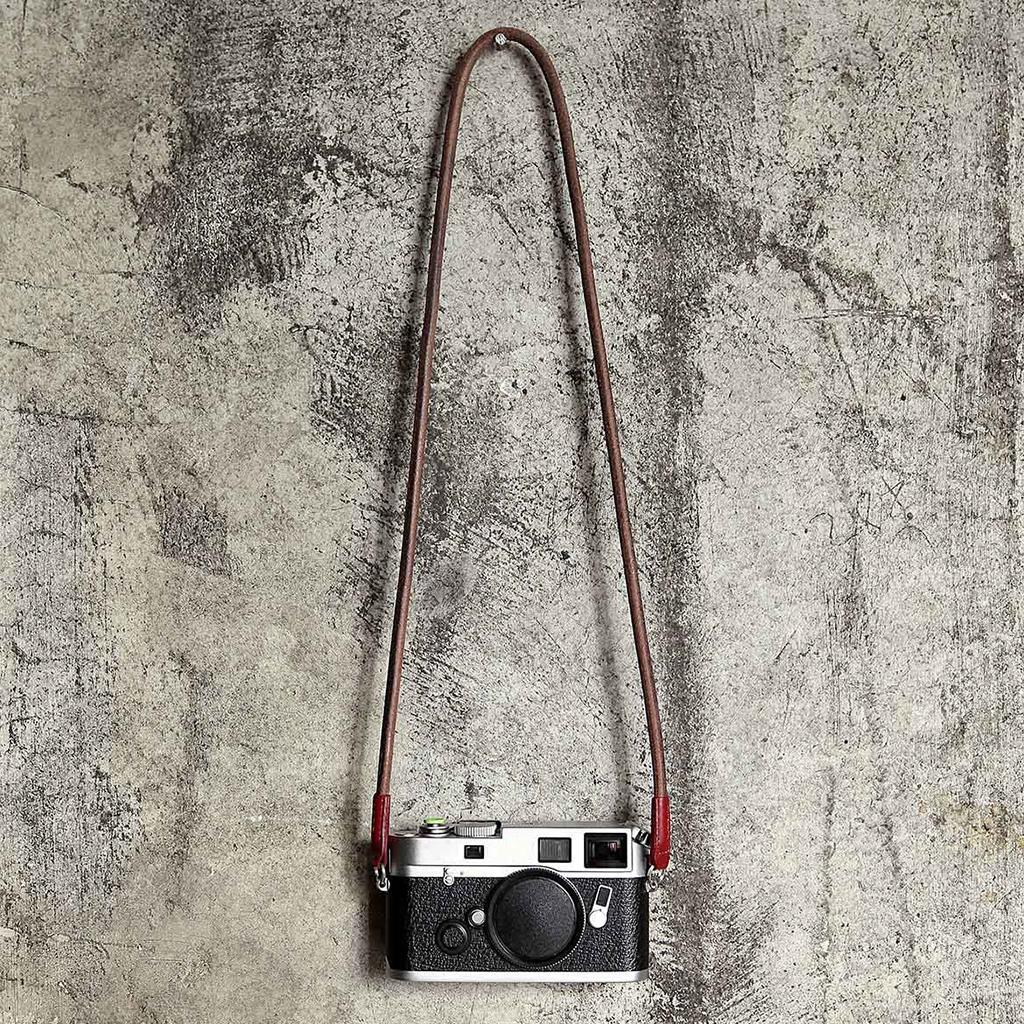 Leather-Camera-Shoulder-Neck-Strap-for-Canon-Sony-Retro-Style-Camera-Belt thumbnail 6