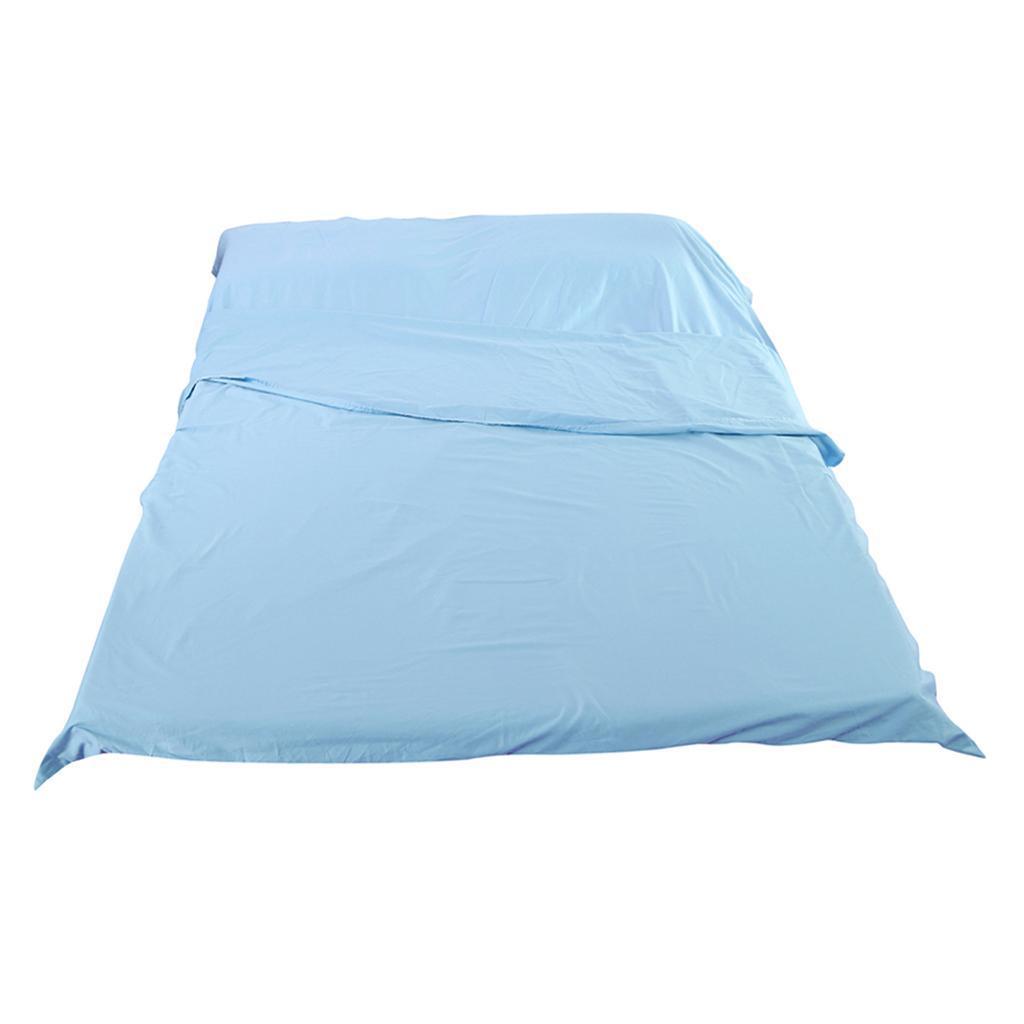 Lenzuolo-Per-Dormire-In-Sacchi-A-Pelo-Per-Letto-Da-Viaggio miniatura 10