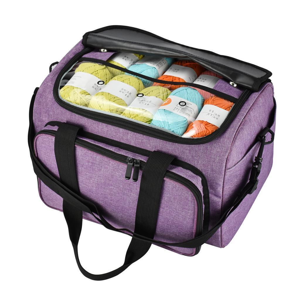 Portable Yarn Storage Bag Totes Organizer for Carrying DIY ...