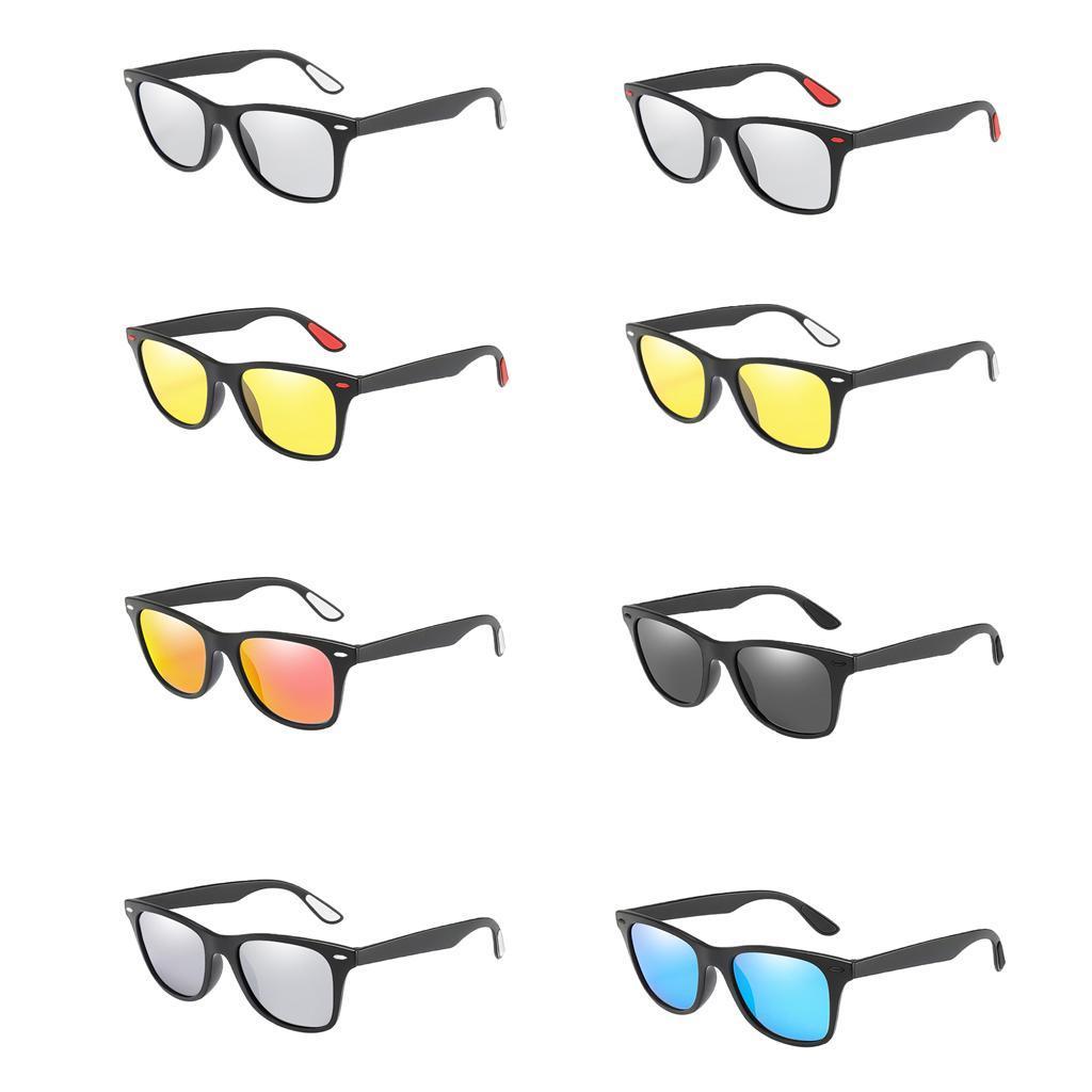 Occhiali-sportivi-Occhiali-da-sole-Occhiali-Accessori-uomo-polarizzati miniatura 5