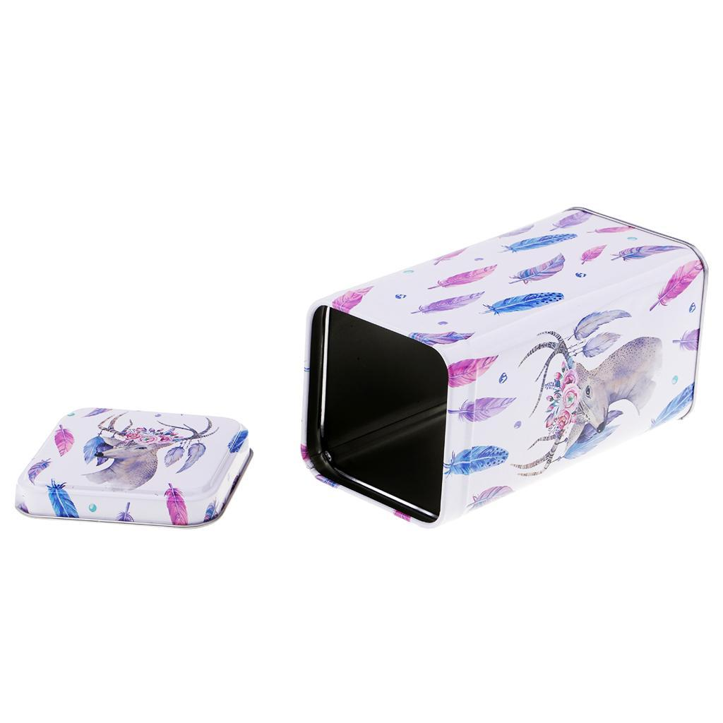 Mini-Tin-Box-Jewelry-Box-Candy-Storage-Box-Gift-Square-Box-14-3x7-2x7-2cm thumbnail 19