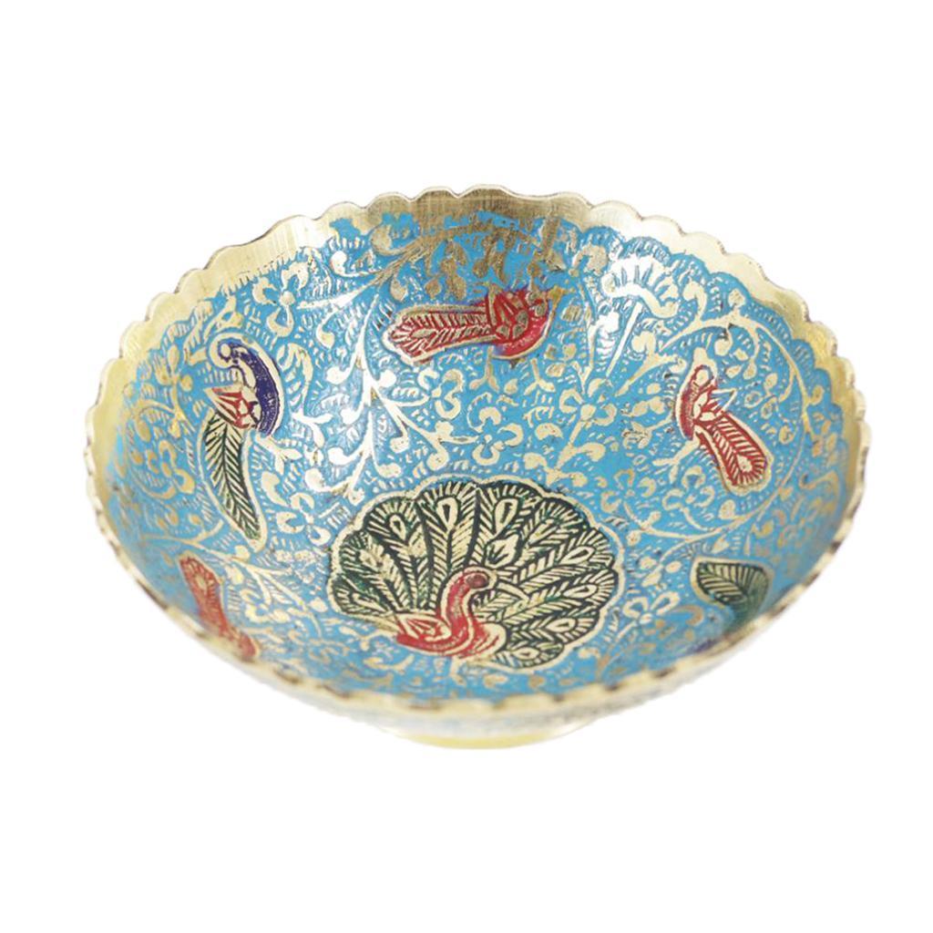 Piatta-Cibo-Casa-Servire-Tavola-Frutta-Buddismo-Decorazione-Collezioni miniatura 20