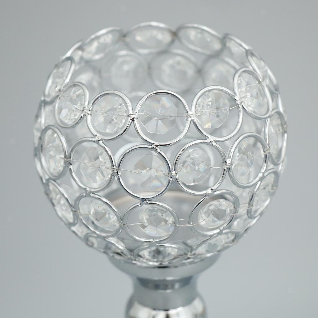 3-Design-Arm-Pillar-Crystal-Cup-Candle-Holder-Candelabra-Wedding-Table-Decor thumbnail 5