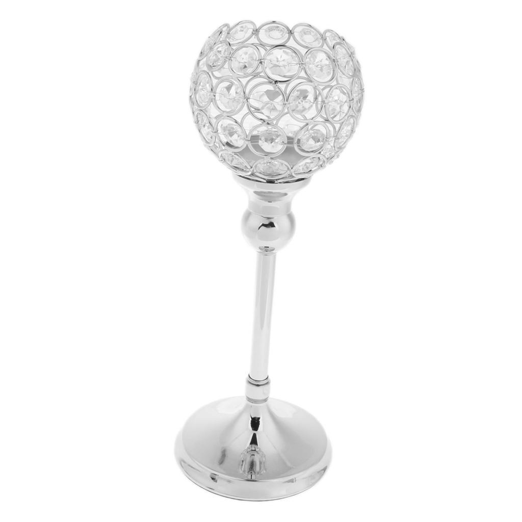 3-Design-Arm-Pillar-Crystal-Cup-Candle-Holder-Candelabra-Wedding-Table-Decor thumbnail 4