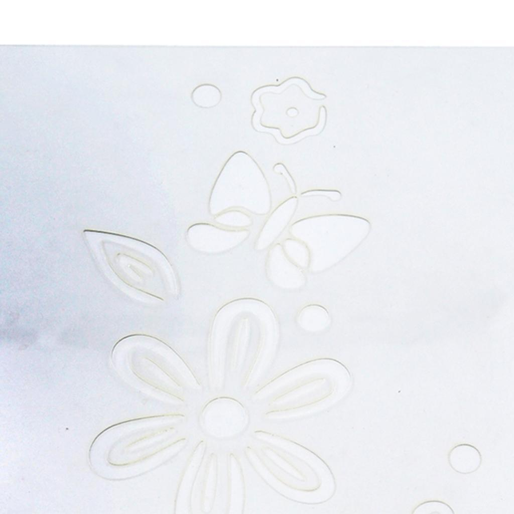 Flower-Pattern-Wall-Paint-Stencil-Template-Room-Home-Improvement-Decoration thumbnail 11
