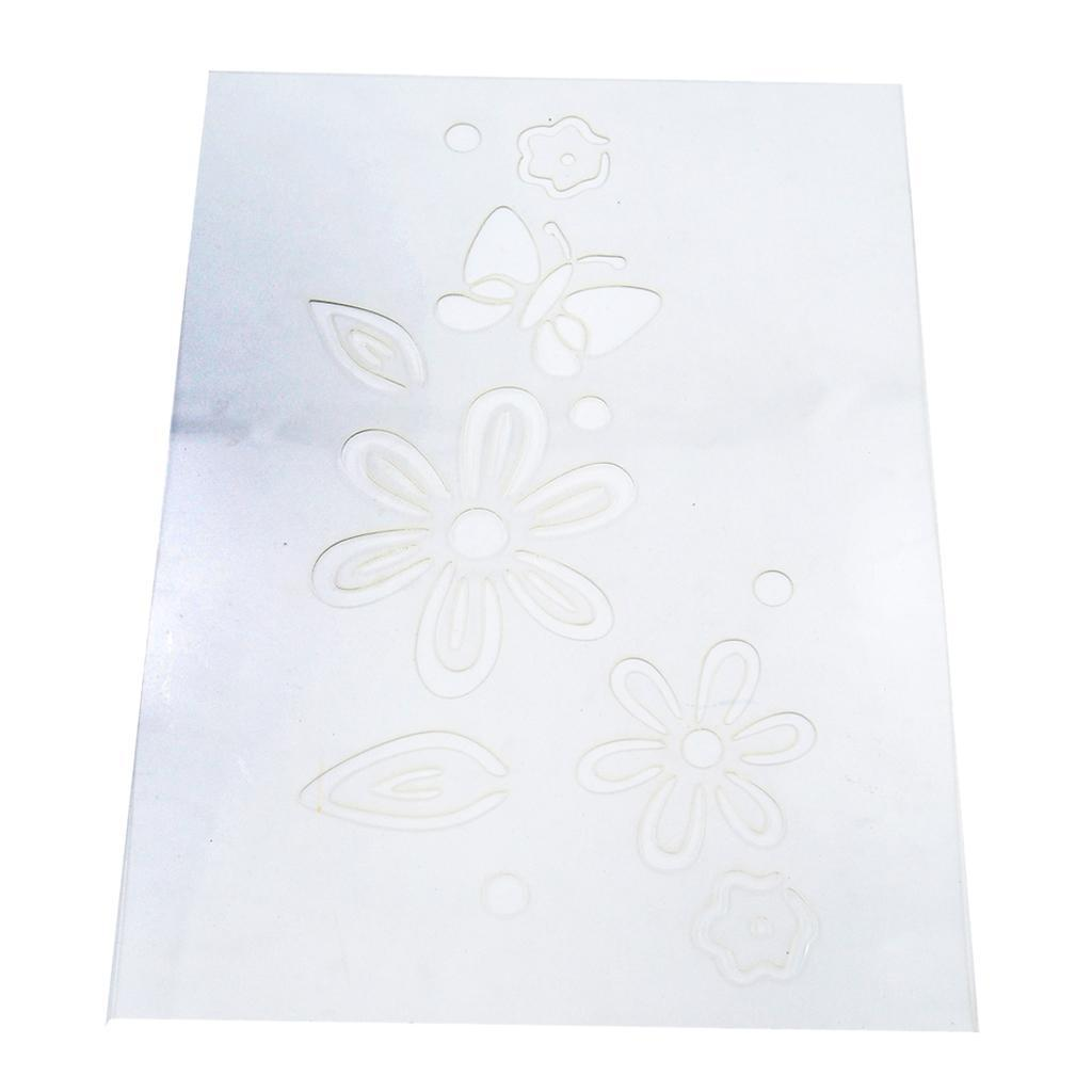 Reusable-Wall-Painting-Stencil-Home-Upholstery-DIY-Template-Flower-Pattern thumbnail 13