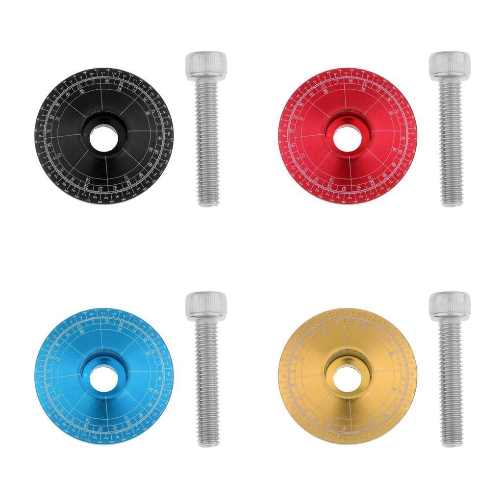 Tappo-Forcella-Bici-in-Lega-di-Alluminio-Accessori miniatura 5