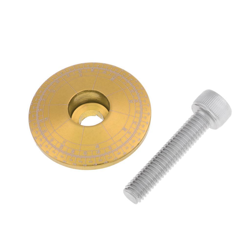 Tappo-Forcella-Bici-in-Lega-di-Alluminio-Accessori miniatura 3
