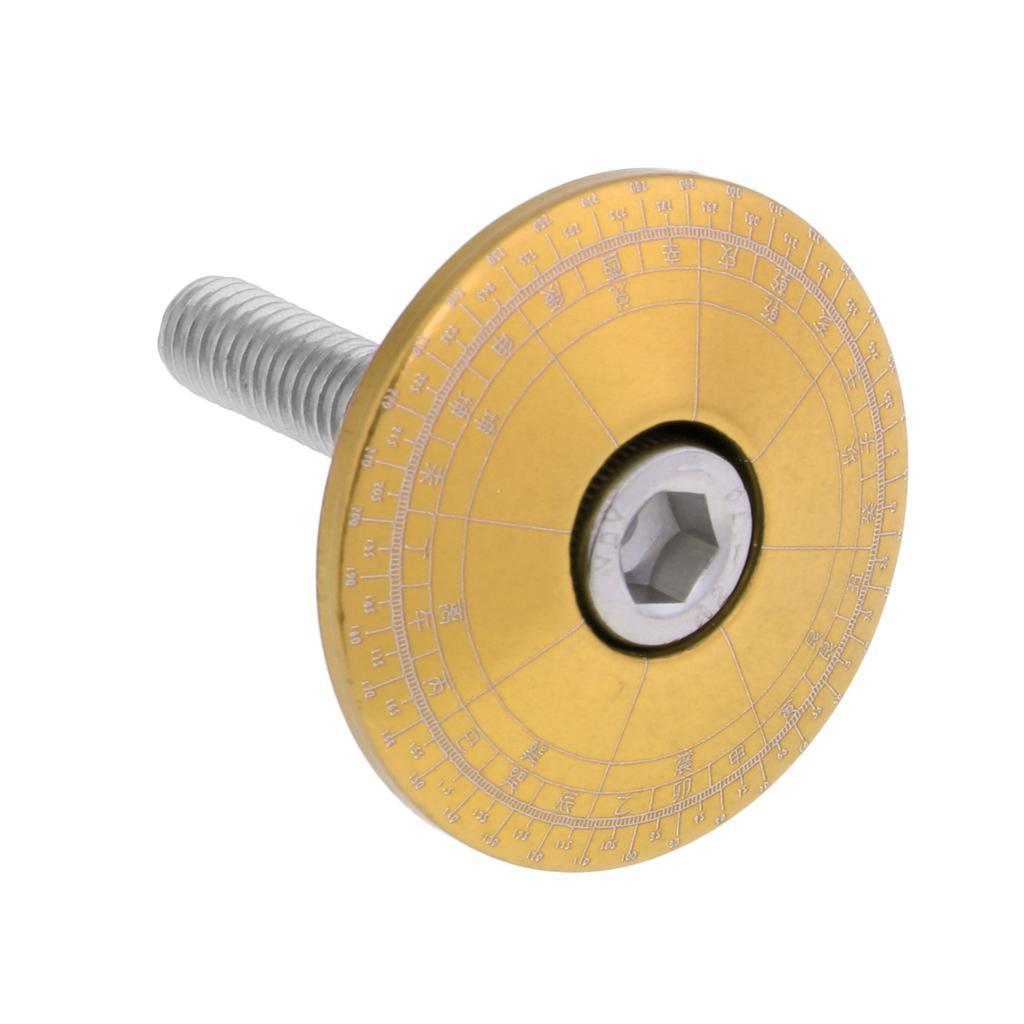 Tappo-Forcella-Bici-in-Lega-di-Alluminio-Accessori miniatura 4