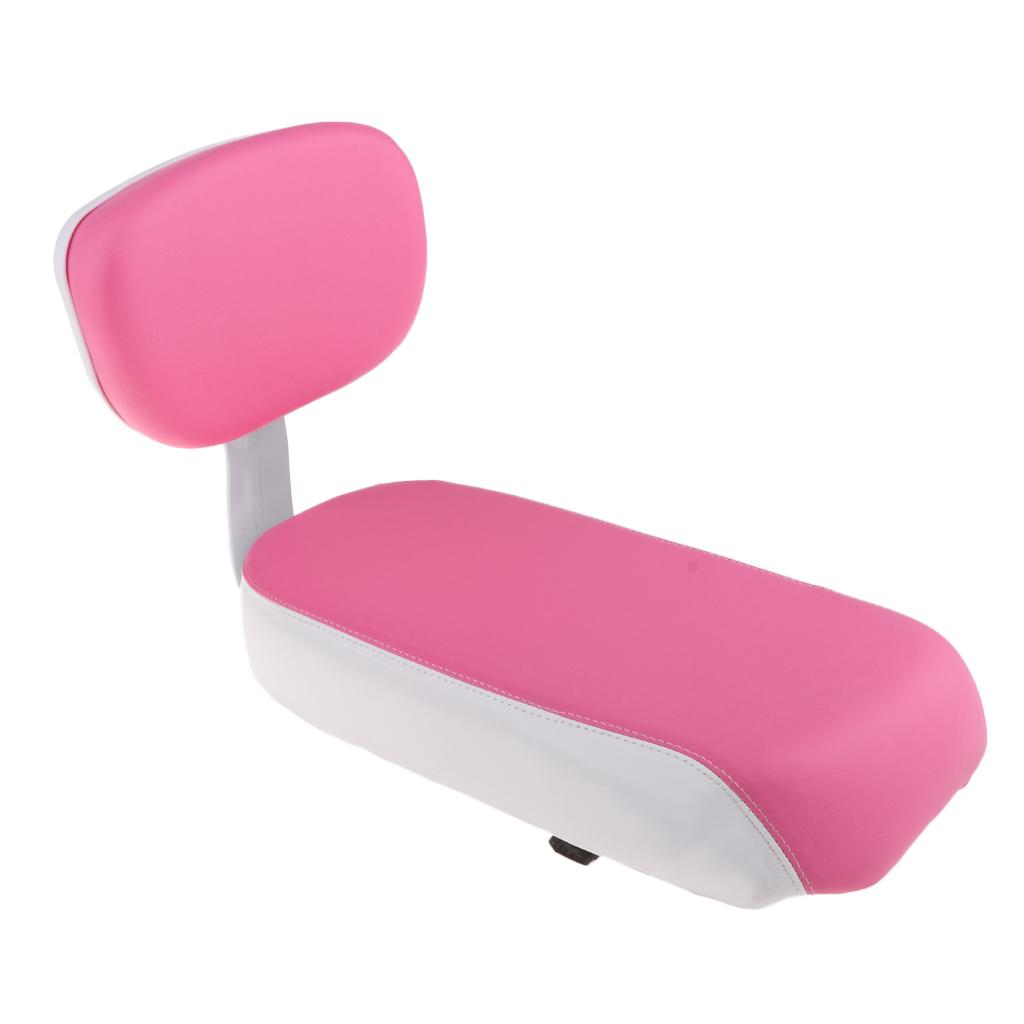 Comfortable Bike Bicycle Cycling Rear Seat Saddle Cushion Pad with Back Rest