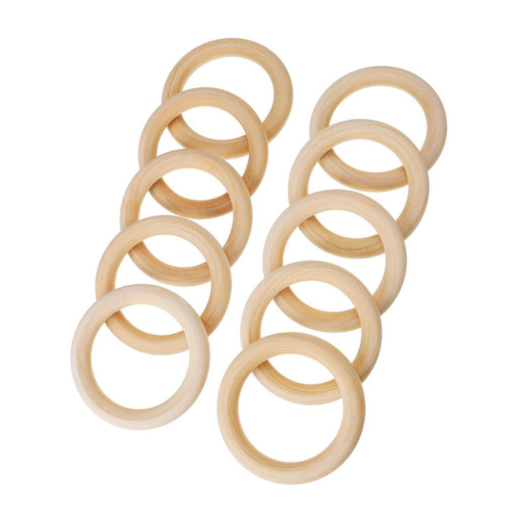 20pcs-Baby-Natural-Wood-Teething-Ring-Teether-Toy-Wooden-Bracelet-DIY-Crafts thumbnail 64