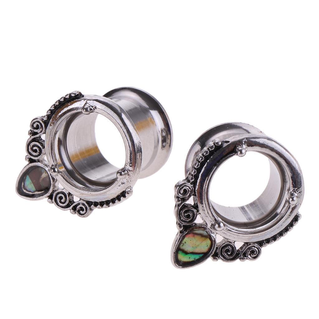 Tunnel-di-2-pezzi-in-acciaio-inox-a-conchiglia-con-estensori-a-goccia miniatura 11