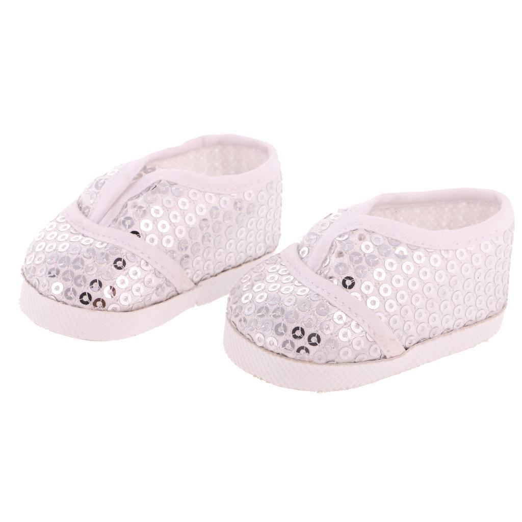 New-Cute-Pair-of-Doll-Shoes-for-18-039-039-American-doll-AG-Dolls-Clothes-Accessories thumbnail 24