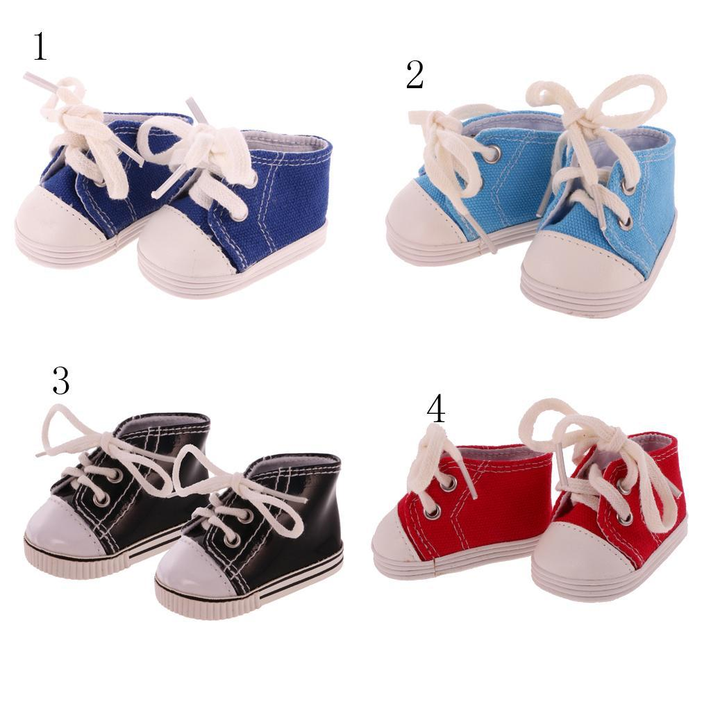 New-Cute-Pair-of-Doll-Shoes-for-18-039-039-American-doll-AG-Dolls-Clothes-Accessories thumbnail 15