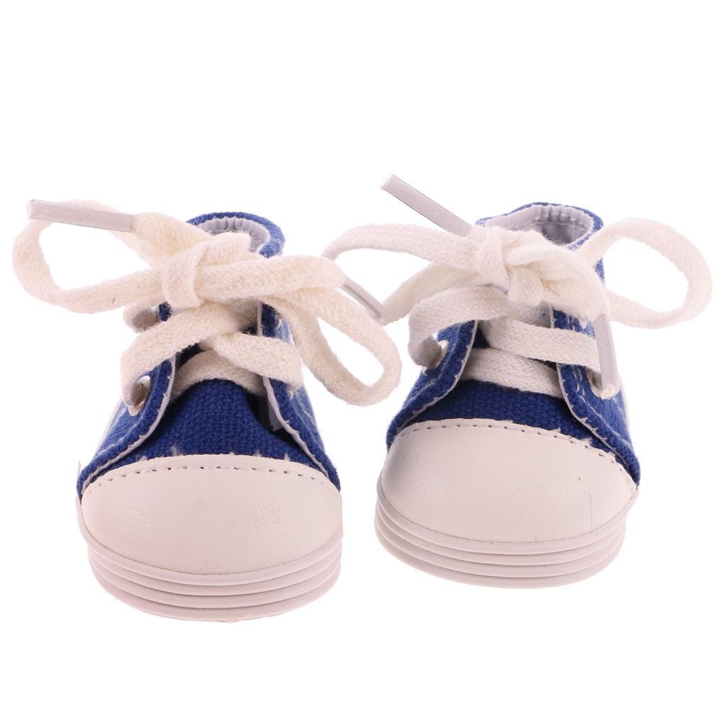 New-Cute-Pair-of-Doll-Shoes-for-18-039-039-American-doll-AG-Dolls-Clothes-Accessories thumbnail 14