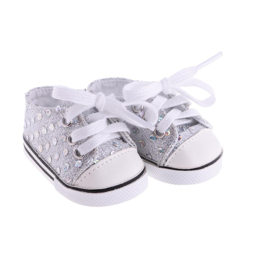 New-Cute-Pair-of-Doll-Shoes-for-18-039-039-American-doll-AG-Dolls-Clothes-Accessories thumbnail 6
