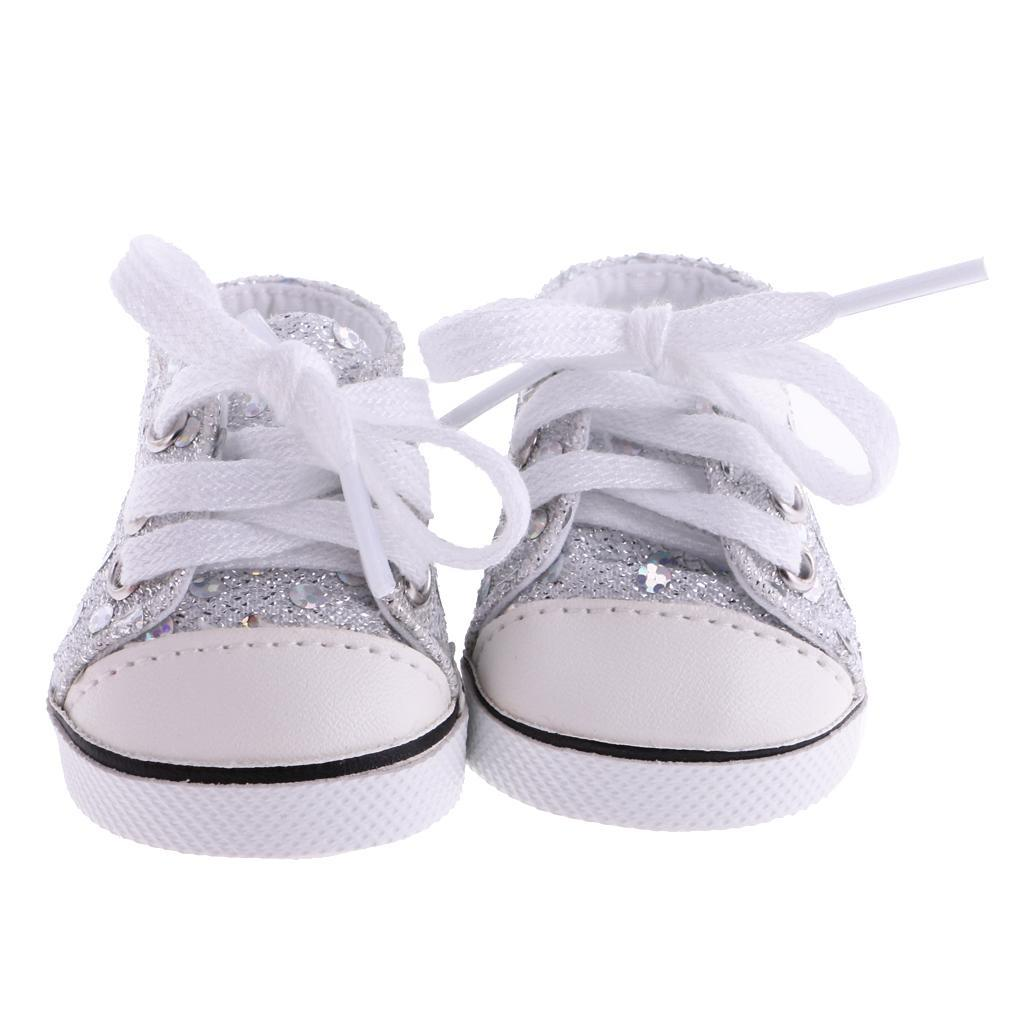 New-Cute-Pair-of-Doll-Shoes-for-18-039-039-American-doll-AG-Dolls-Clothes-Accessories thumbnail 7